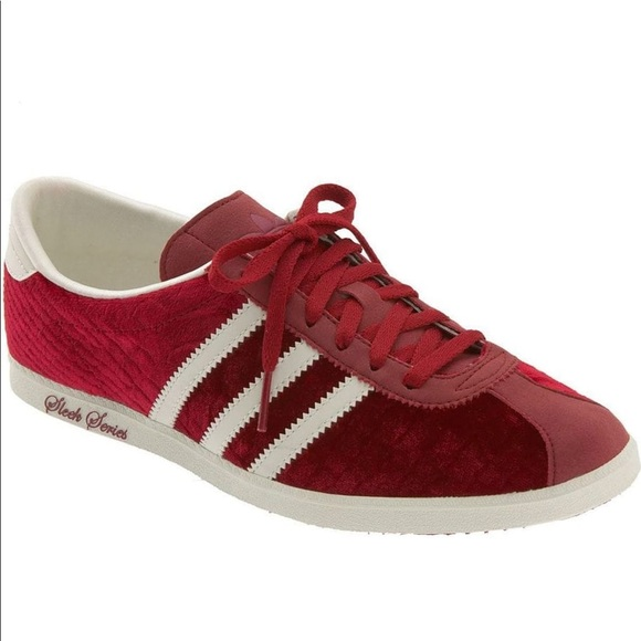 Adidas Red Velvet Gazelle Sleek Series